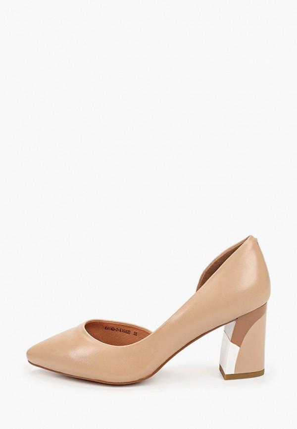 женские туфли rita bravuro, коричневые