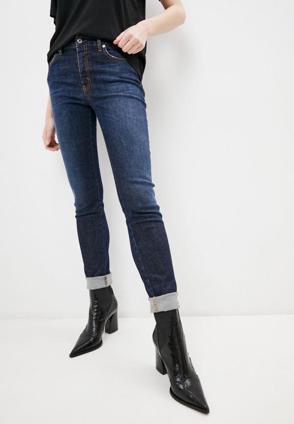женские джинсы just cavalli, синие