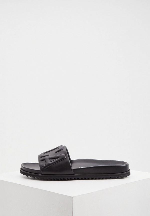мужские сандалии just cavalli, черные