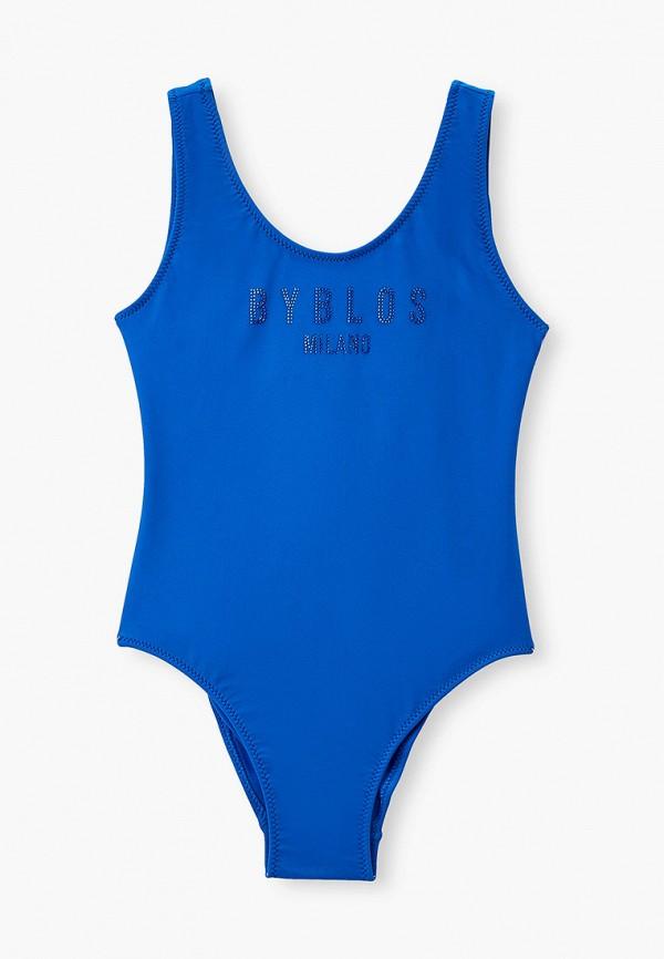 купальник byblos для девочки, синий