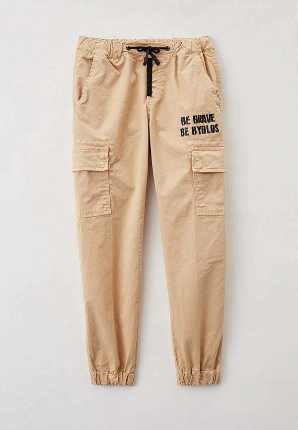 брюки byblos для мальчика, бежевые