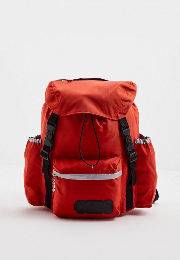 мужской рюкзак gcds, красный