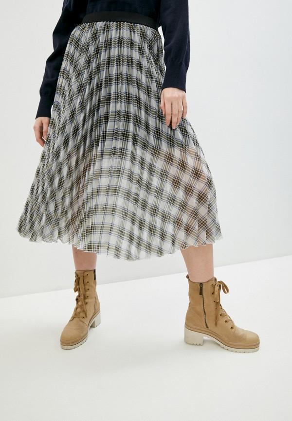женская плиссированные юбка maje, разноцветная