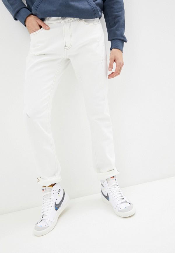 мужские прямые джинсы tommy jeans, белые