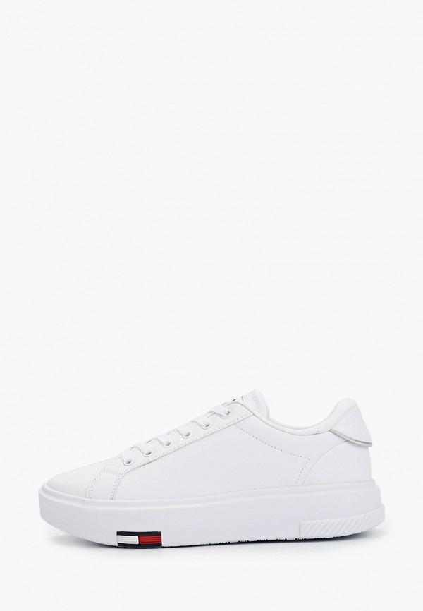 женские кеды tommy jeans, белые