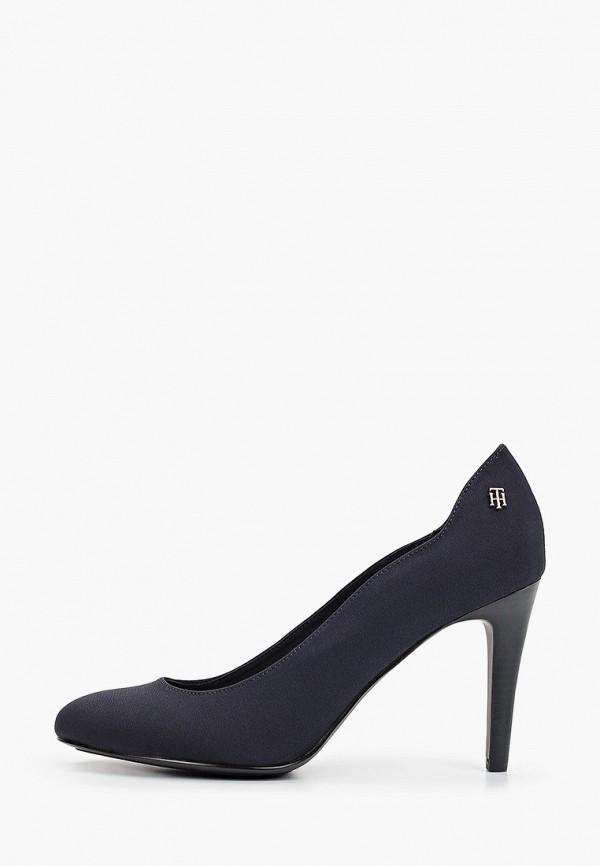 женские туфли-лодочки tommy hilfiger, синие