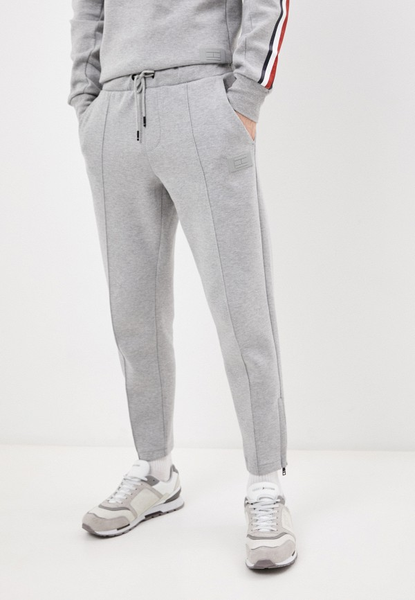 мужские спортивные брюки tommy hilfiger, серые