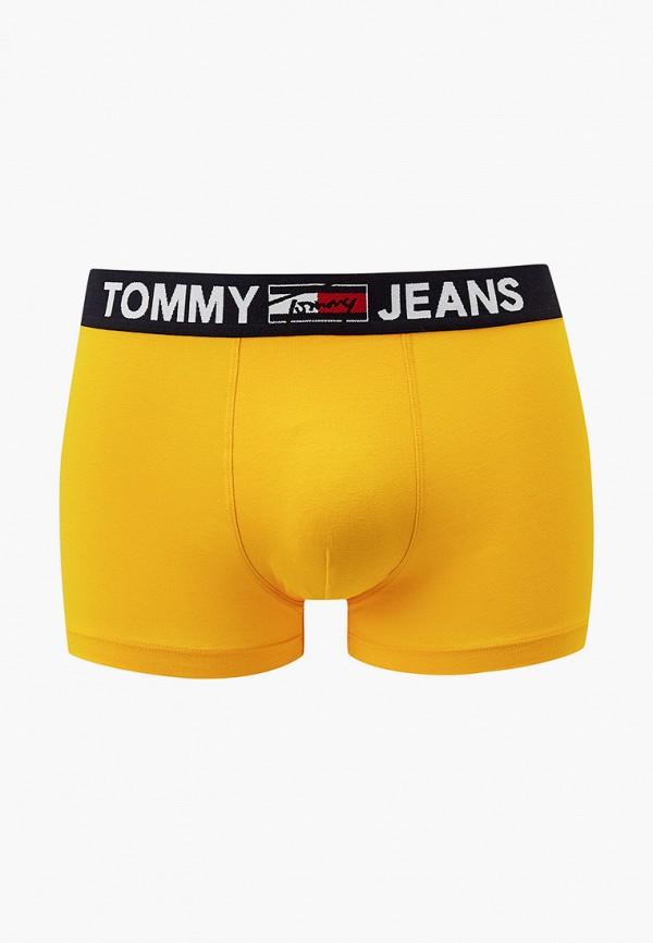 мужские трусы-боксеры tommy jeans, желтые