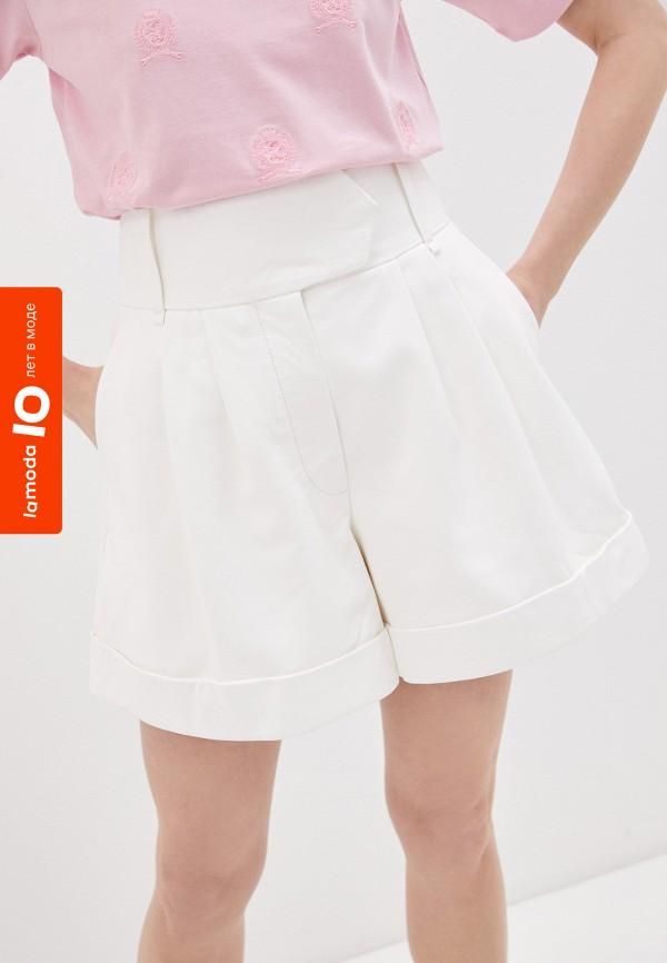 женские повседневные шорты tommy hilfiger, белые