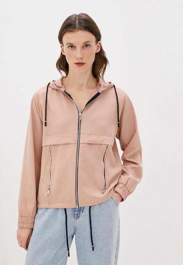 женская куртка adrixx, розовая