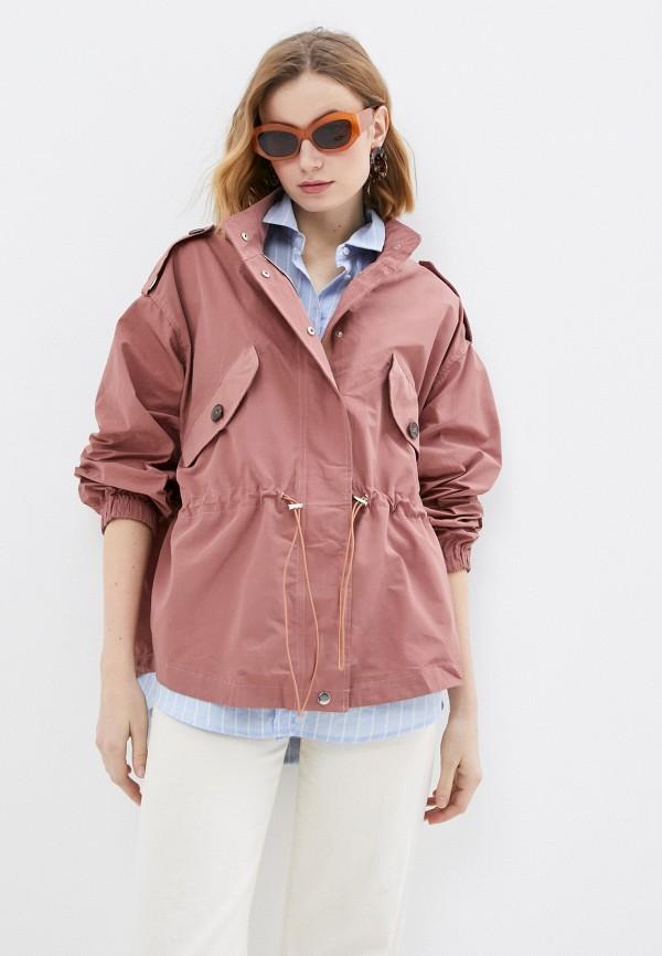 женская куртка b.style, коричневая
