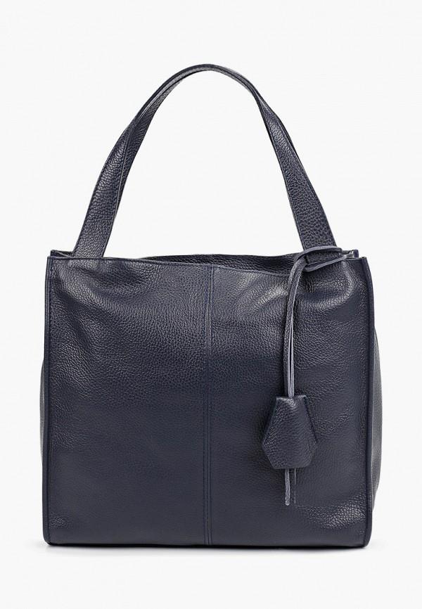 женская сумка roberta rossi, синяя