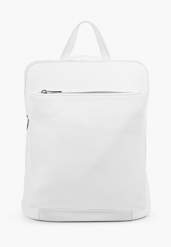 женский рюкзак roberta rossi, белый