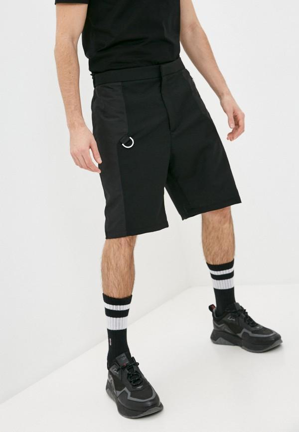 мужские повседневные шорты les hommes, черные