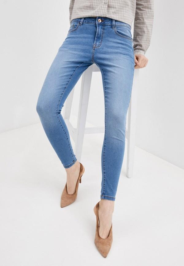 женские джинсы jacqueline de yong, голубые