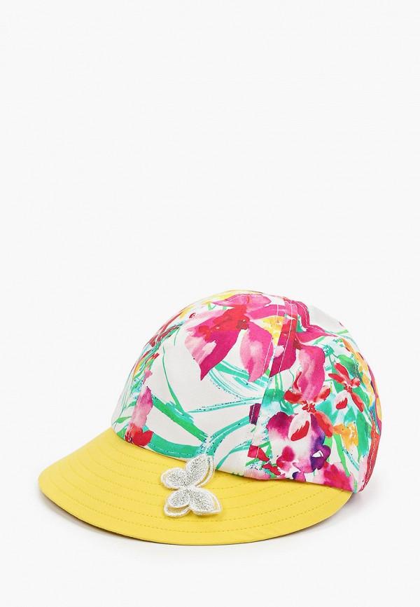 бейсболка tutu для девочки, разноцветная
