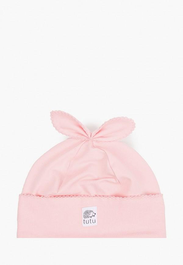 шапка tutu для девочки, розовая