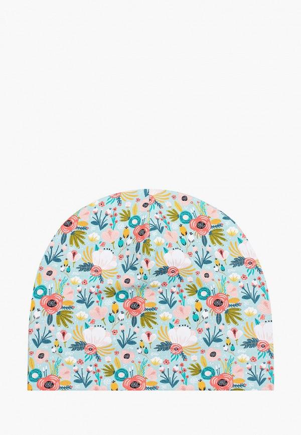 шапка tutu для девочки, бирюзовая