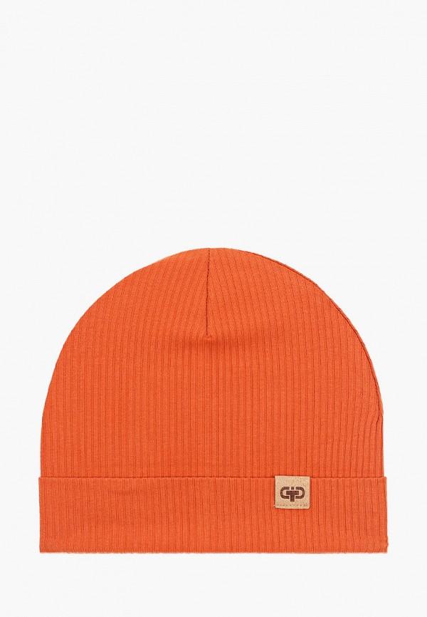 шапка tutu малыши, оранжевая