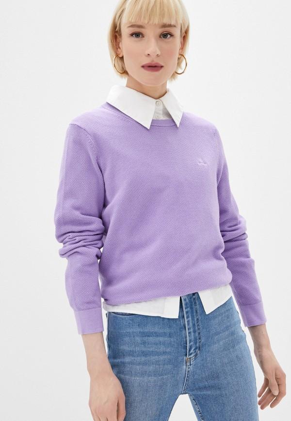 женский джемпер gant, фиолетовый