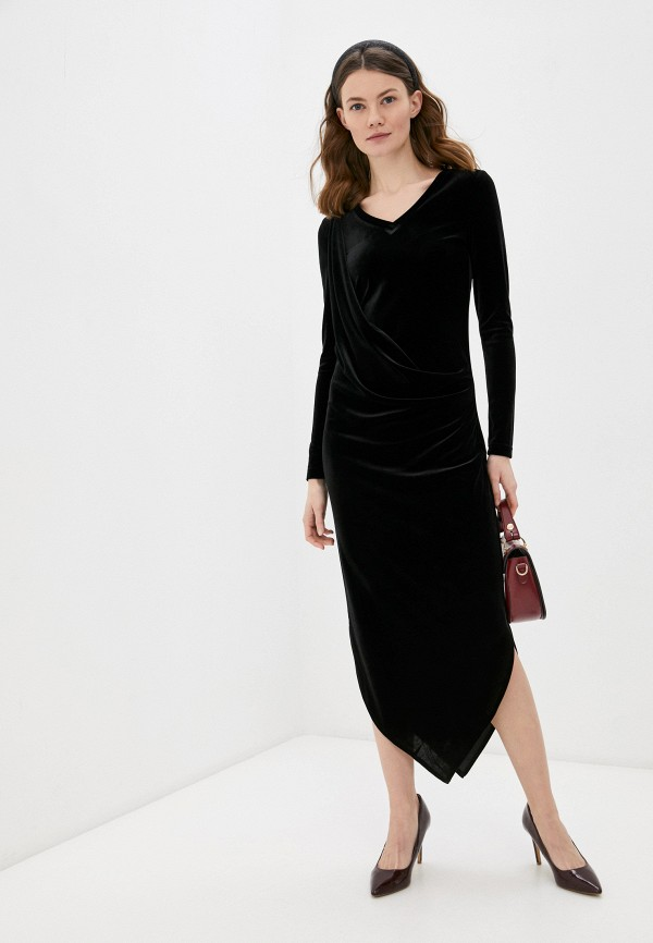 женское вечерние платье adzhedo, черное