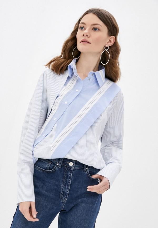 женская рубашка с длинным рукавом adzhedo, белая