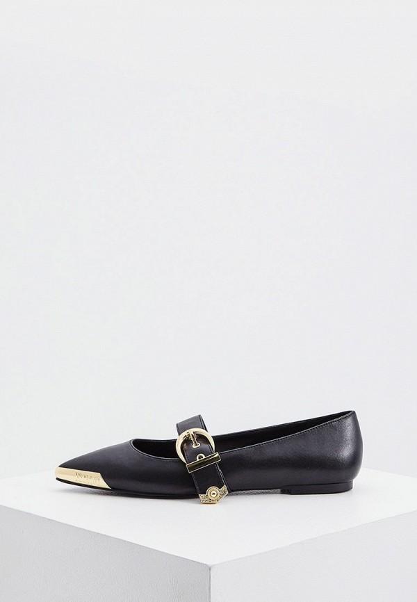 женские туфли versace, черные