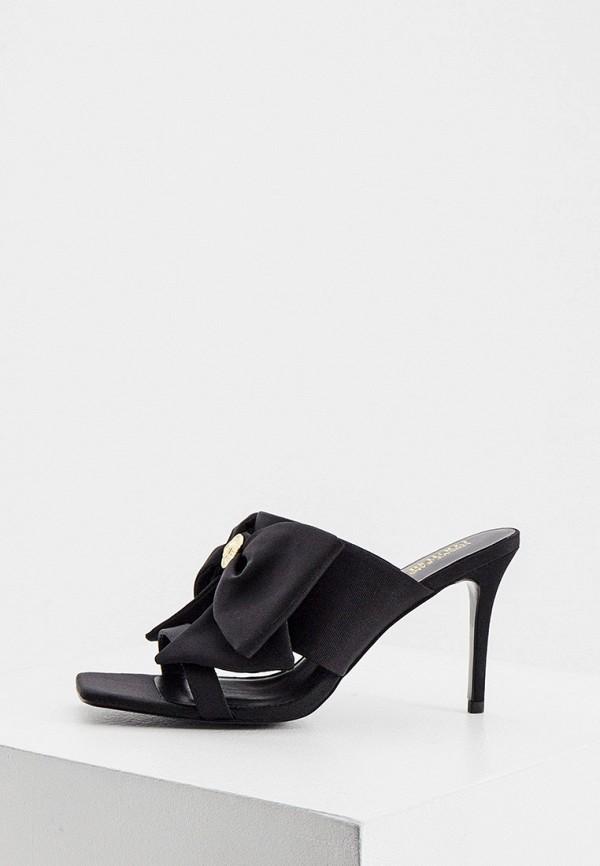 женское сабо versace, черное