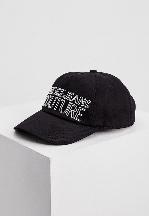 мужская бейсболка versace, черная