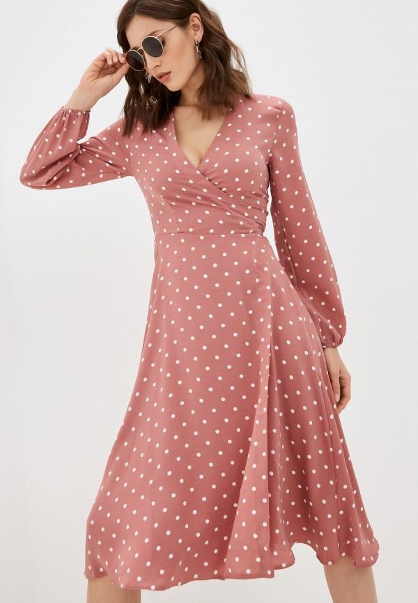 женское платье hey look, розовое