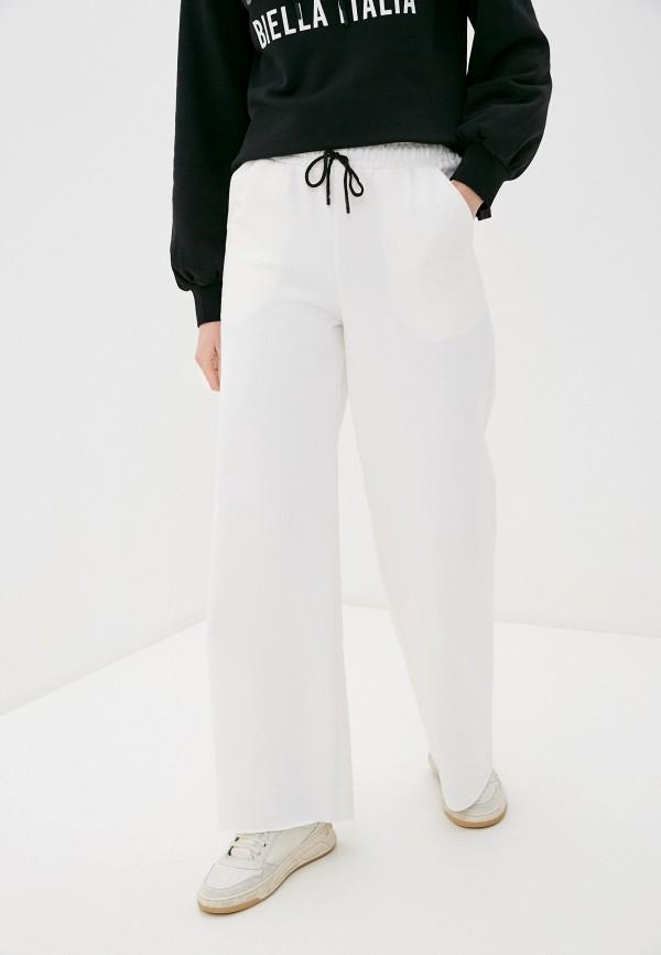 женские спортивные брюки hey look, белые