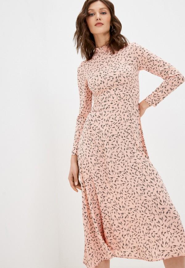 женское повседневные платье hey look, розовое