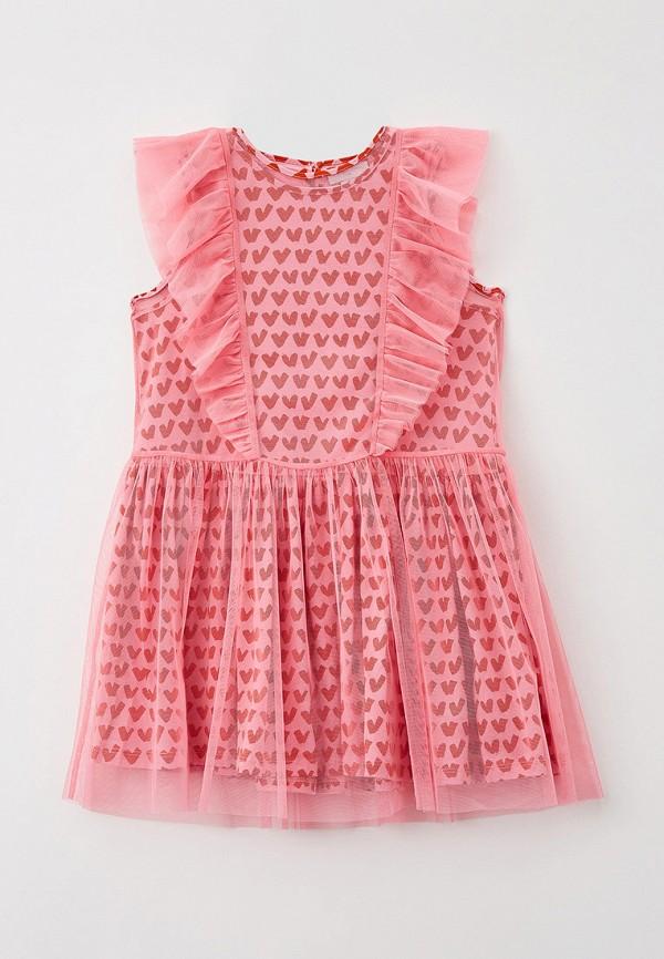 нарядные платье stella mccartney для девочки, розовое