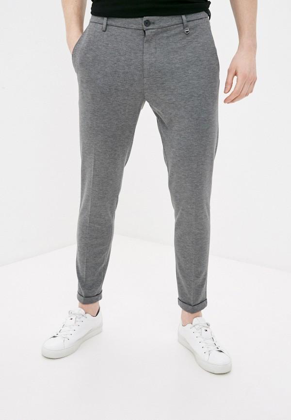 мужские зауженные брюки antony morato, серые