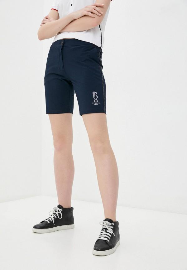 женские спортивные шорты north sails, синие