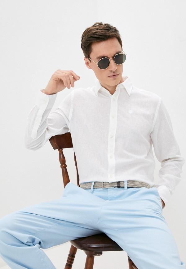 мужская рубашка с длинным рукавом north sails, белая