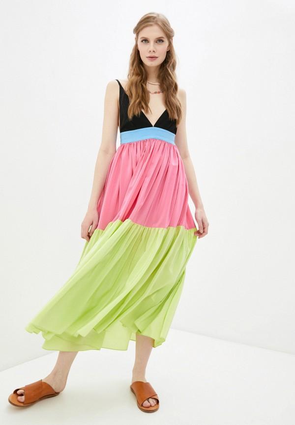 женский сарафан m missoni, разноцветный