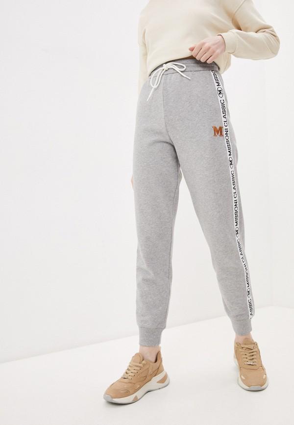 женские спортивные брюки m missoni, серые