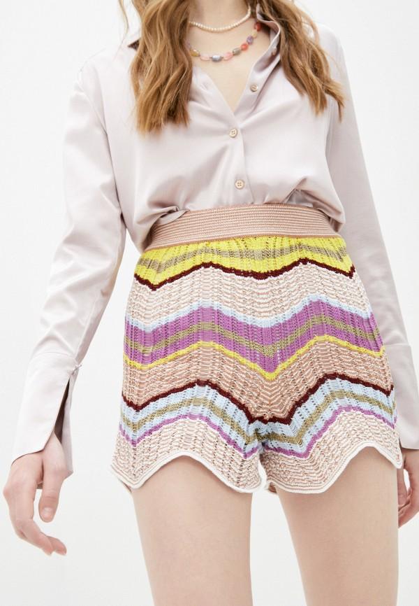 женские повседневные шорты m missoni, разноцветные