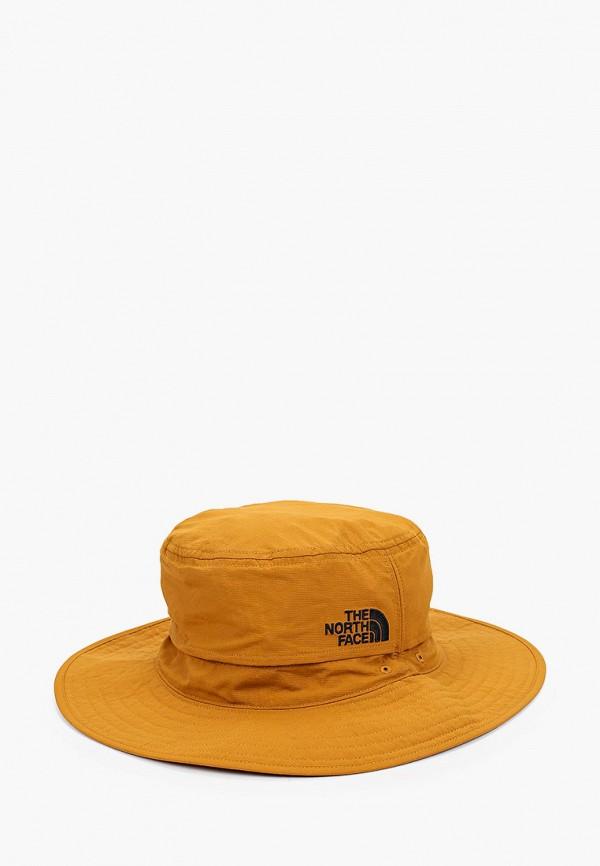 женская шляпа the north face, коричневая