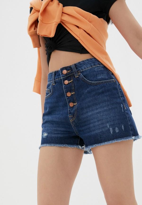 женские шорты roxy, синие