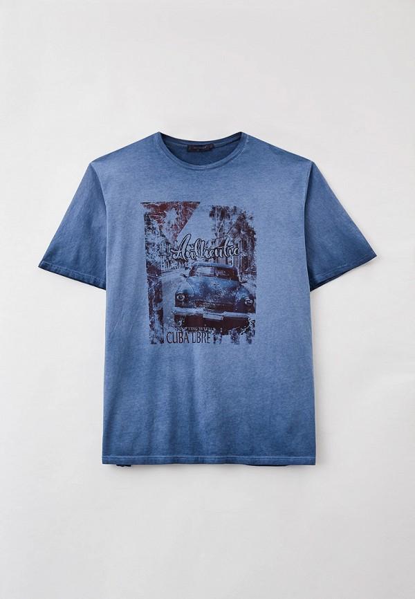 мужская футболка maxfort, синяя