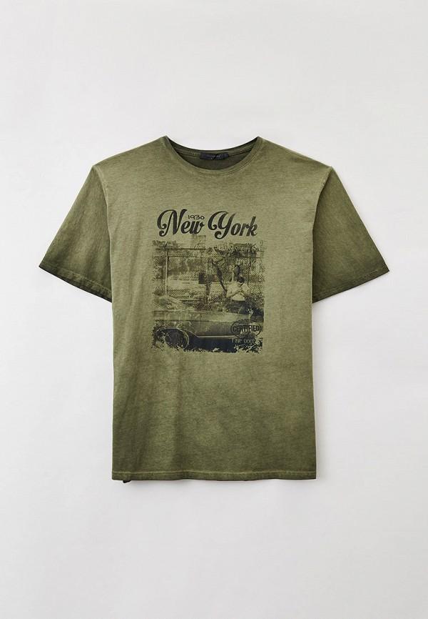 мужская футболка maxfort, зеленая