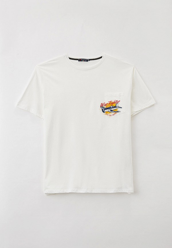 мужская футболка maxfort, белая