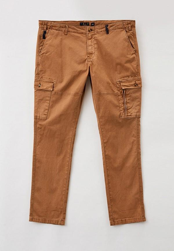 мужские брюки maxfort, коричневые