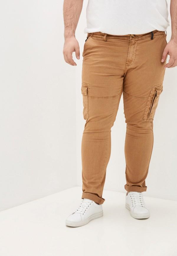 мужские брюки карго maxfort, коричневые