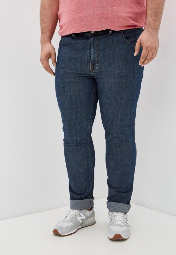 мужские прямые джинсы maxfort, синие