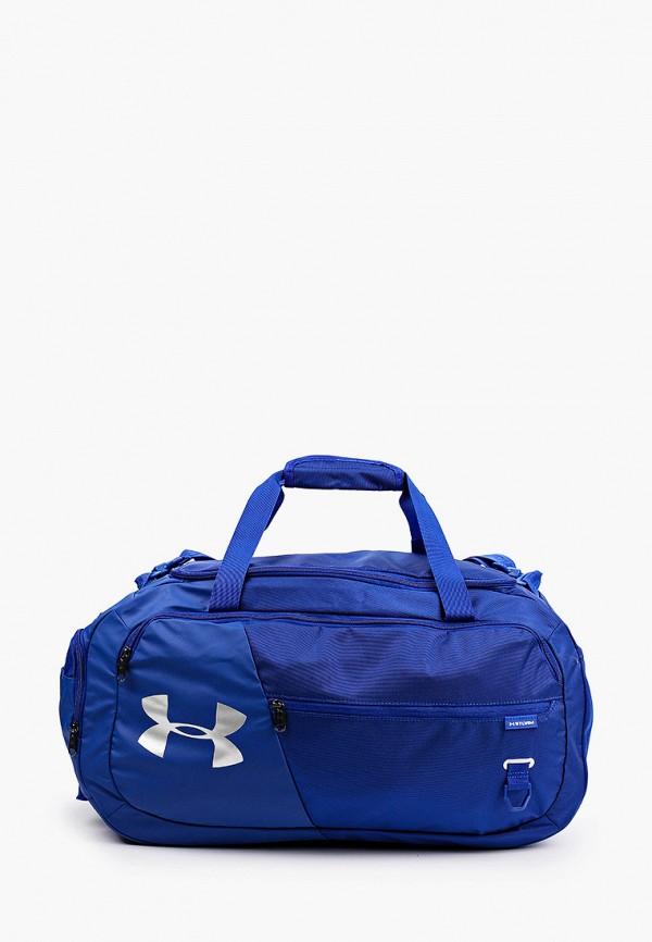 женская спортивные сумка under armour, синяя