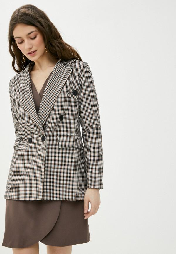 женский пиджак rene santi, разноцветный