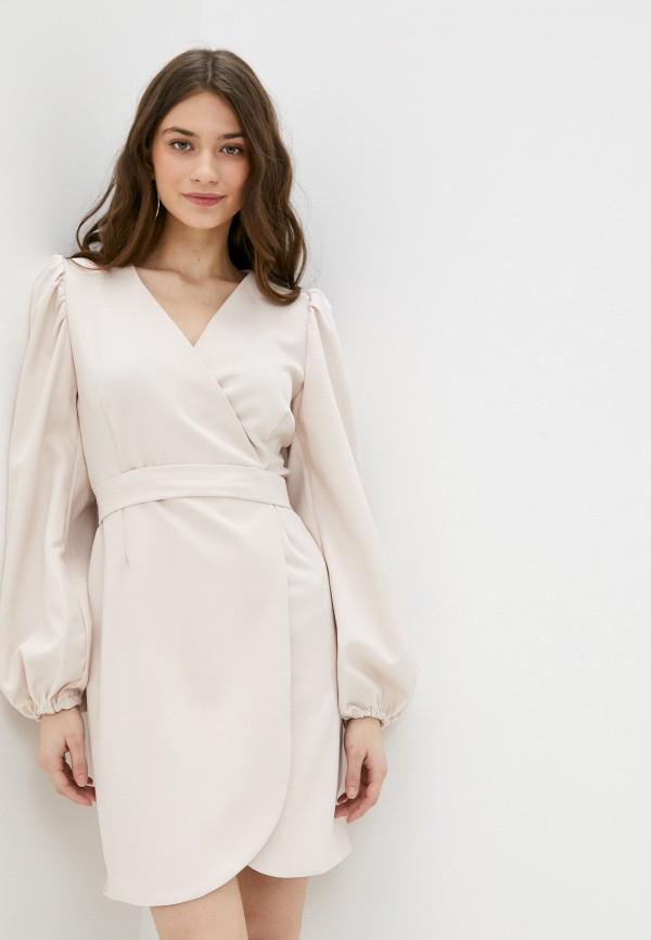 женское платье-пиджаки rene santi, бежевое